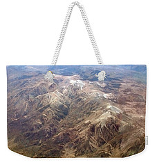 Weekender Tote Bag featuring the photograph Mountain View by Mark Greenberg
