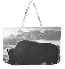 Mountain Wildlife Weekender Tote Bag by Pixel  Chimp