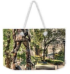 Mountaineer Statue At Lair Weekender Tote Bag