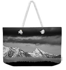 Mountains And Clouds Weekender Tote Bag