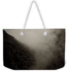 Mountains And Mist Weekender Tote Bag by Shane Holsclaw