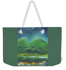 Mountains At Night Weekender Tote Bag