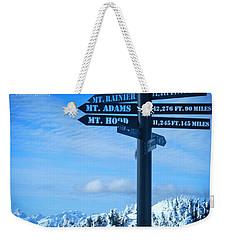 Mountains Everywhere Weekender Tote Bag
