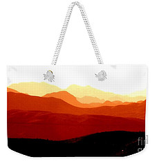 Mountains In Marsalas Weekender Tote Bag