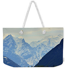Mountains Near Matanuska Glacier Weekender Tote Bag