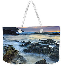 Weekender Tote Bag featuring the photograph Mourillar Beach Galicia Spain by Pablo Avanzini
