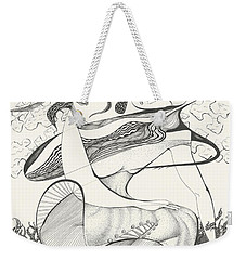 Mournings Past Weekender Tote Bag by Melinda Dare Benfield