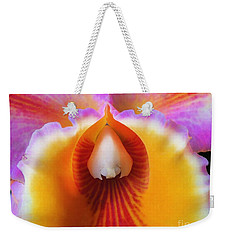 Mouth Of An Orchid Weekender Tote Bag
