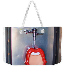 Mouth Urinal Two Weekender Tote Bag by Cathy Anderson