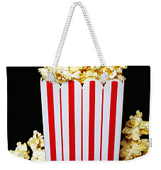 Movie Night Pop Corn Weekender Tote Bag