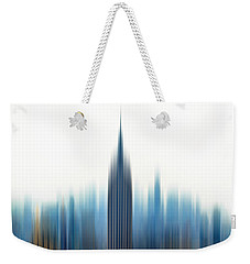 Weekender Tote Bag featuring the photograph Moving An Empire by Az Jackson