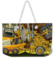 Moving Home Weekender Tote Bag by Colin Thompson