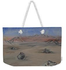 Moving Rocks Weekender Tote Bag