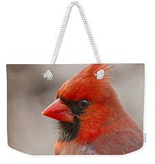 Mr Cardinal Portrait Weekender Tote Bag