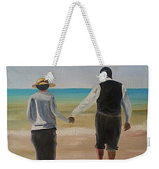 Mr. Carson And Mrs. Hughes Weekender Tote Bag by Bev Conover