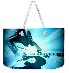 Mr Chuck Berry Blueberry Hill Style Edited 2 Weekender Tote Bag by Kelly Awad