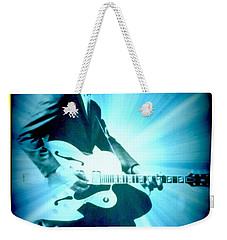Mr Chuck Berry Blueberry Hill Style Edited Weekender Tote Bag by Kelly Awad