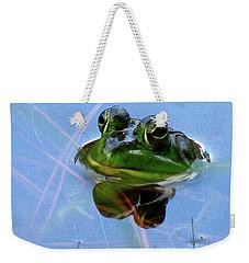 Mr. Frog Weekender Tote Bag