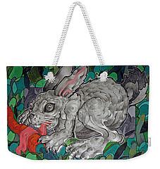 Mr Greedy Bunny Weekender Tote Bag