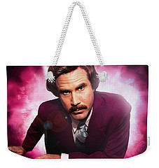 Mr. Ron Mr. Ron Burgundy From Anchorman Weekender Tote Bag