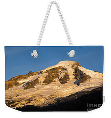 Weekender Tote Bag featuring the photograph Mt.baker At Sunset  by Yulia Kazansky
