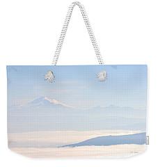 Mt. Baker From San Juan Islands Weekender Tote Bag