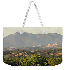 Weekender Tote Bag featuring the photograph Mt. Cali by Shawn Marlow