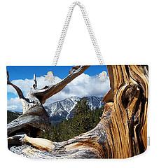 Mt. Charleston Thru A Tree Weekender Tote Bag