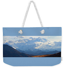 Mt. Denali Weekender Tote Bag by Ann Lauwers