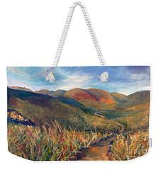 Mt. Diablo Hills Weekender Tote Bag