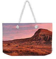 Mt Garfield Sunrise Weekender Tote Bag