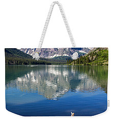 Mt Gould Reflections Weekender Tote Bag