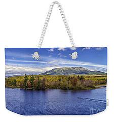 Mt Katahdin Hdr Weekender Tote Bag