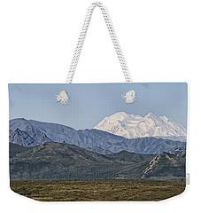 Mt. Mckinley Aka Denali Weekender Tote Bag