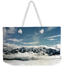 Weekender Tote Bag featuring the photograph Mt Olympus by Greg Reed