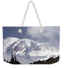 Weekender Tote Bag featuring the photograph Mt Rainier  by Greg Reed