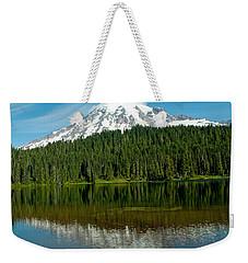 Weekender Tote Bag featuring the photograph Mt. Rainier II by Tikvah's Hope