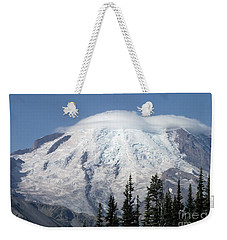 Mt. Rainier In August 2 Weekender Tote Bag