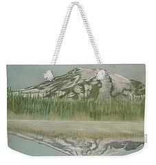 Mt Rainier Weekender Tote Bag by Terry Frederick