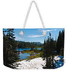 Mt. Rainier Wilderness Weekender Tote Bag by Tikvah's Hope