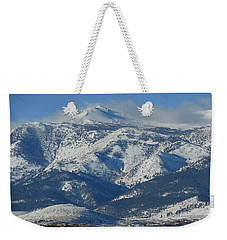 Mt Rose Reno Nevada Weekender Tote Bag