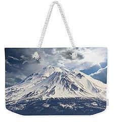 Mt Shasta Weekender Tote Bag by Athala Carole Bruckner