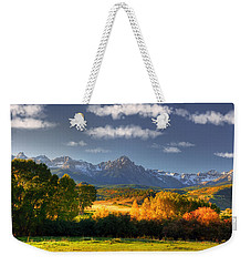 Mt Sneffels And The Dallas Divide Weekender Tote Bag