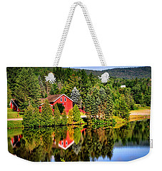Mt. Snow In Summer Weekender Tote Bag