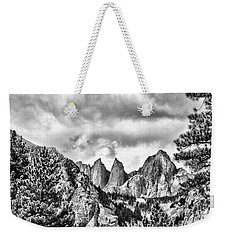 Mt. Whitney Weekender Tote Bag by Peggy Hughes