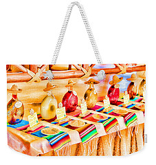 Weekender Tote Bag featuring the photograph Mucho Tequila by Teresa Zieba