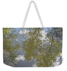 Mudpuddle Reflection Weekender Tote Bag