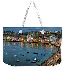 Mugardos Panorama Galicia Spain Weekender Tote Bag
