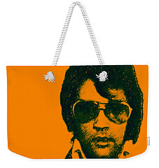 Mugshot Elvis Presley Square Weekender Tote Bag