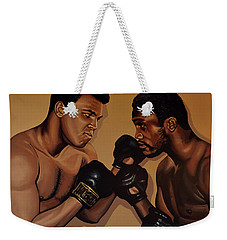 Muhammad Ali And Joe Frazier Weekender Tote Bag